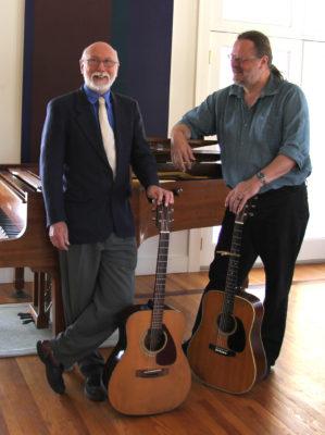 Alan Reid and Rob van Sante